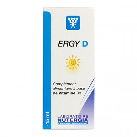 Nutergia Ergy D Solution Buvable 15ml
