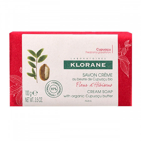 Klorane Savon Crème Fleur d'Hibiscus 100g