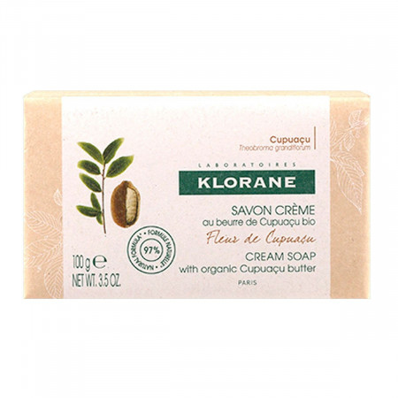Klorane Savon Crème Fleur de Cupuaçu 100g