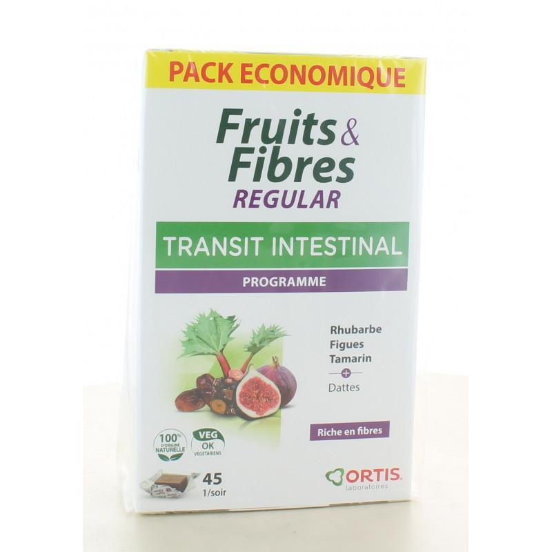 Fruits & Fibres Regular Transit Intestinal 45 cubes