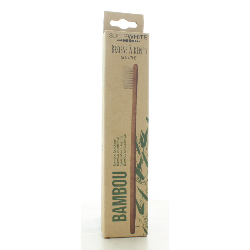 SuperWhite Bambou Brosse à Dents Souple
