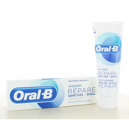 Oral-B Dentifrice Blancheur Répare Gencives & Émail 75ml