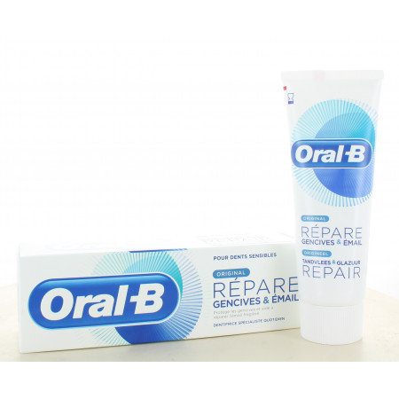 Oral-B Dentifrice Original Répare Gencives & Émail 75ml