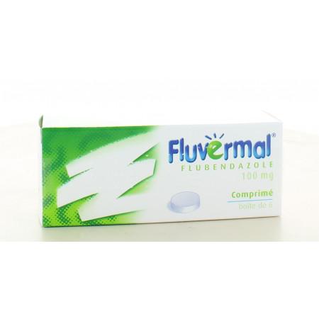 Fluvermal 100 mg 6 comprimés
