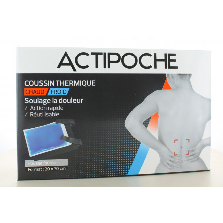 ActiPoche Coussin Thermique Chaud/Froid 20X30cm
