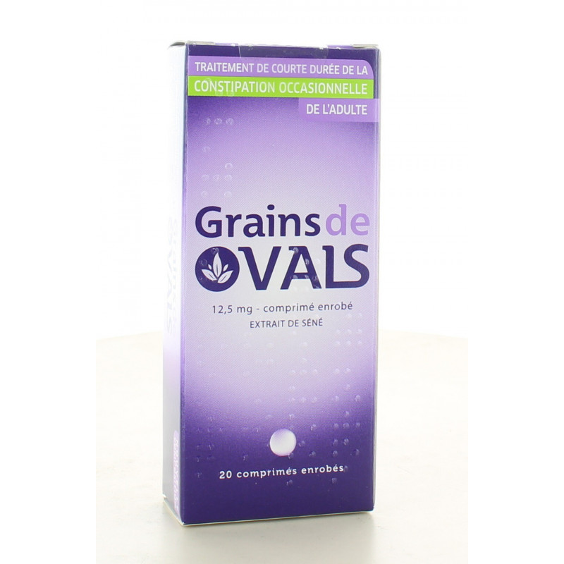 Grains de Vals 12,5 mg 20 comprimés