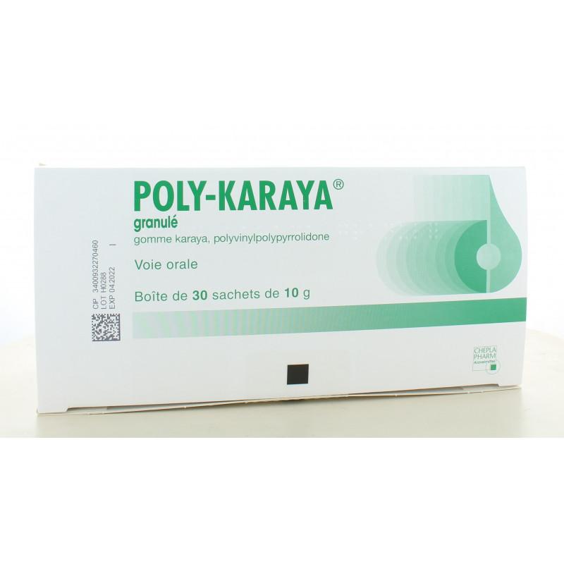 Poly-Karaya 30 sachets