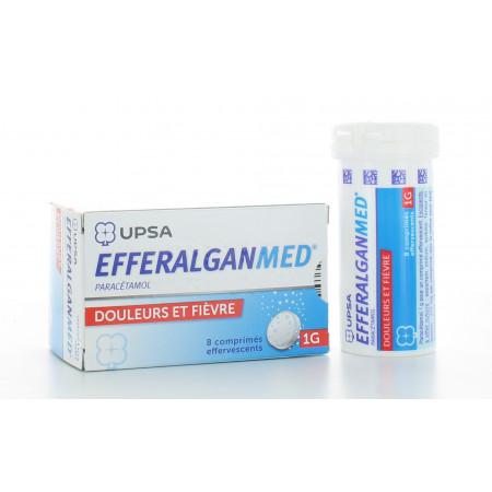 Efferalganmed 1g 8 comprimés effervescents