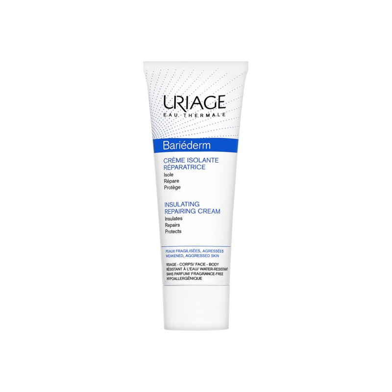 Uriage Bariéderm Crème Isolante Réparatrice 75ml