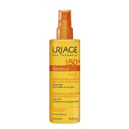 Uriage Bariésun Spray Solaire Sans Parfum SPF50+ 200ml