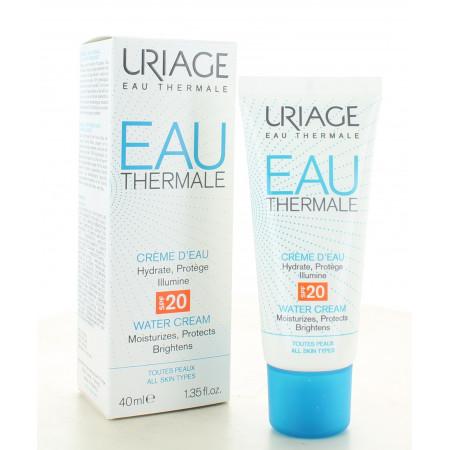 Uriage Eau Thermale Crème d'Eau SPF20 40ml