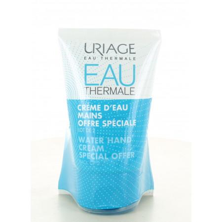 Uriage Eau Thermale Crème d'Eau Mains 2X50ml