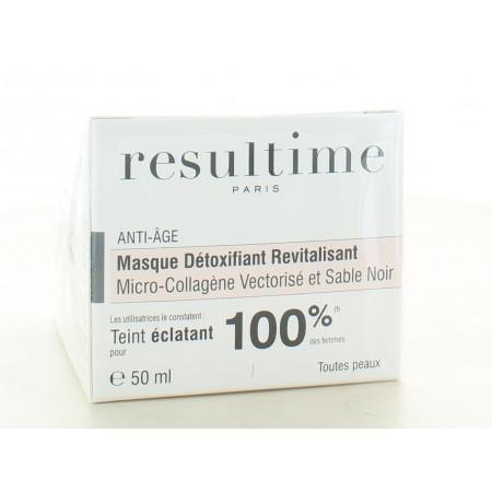 Resultime Masque Détoxifiant Revitalisant 50ml