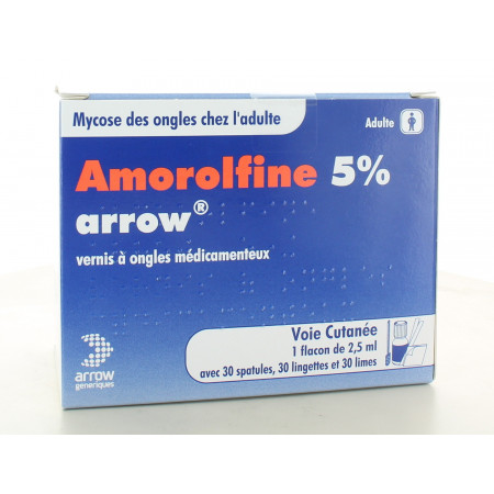 Amorolfine 5% Arrow (X30)