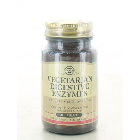 Solgar Vegetarian Digestive Enzymes 50 tablets