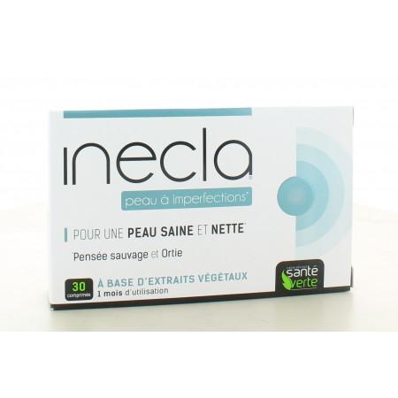 Inecla Peau à Imperfections Santé Verte 30 comprimés