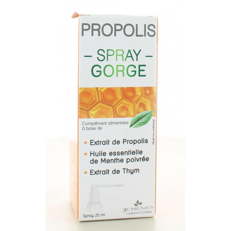 3 Chênes Propolis Spray Gorge 25ml