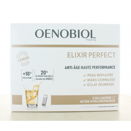 Oenobiol Elixir Perfect Anti-âge Haute Performance X30 sticks