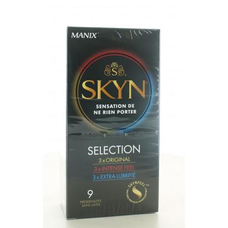 Manix Skyn Selection Préservatifs X9