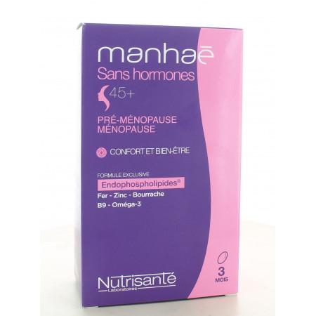Manhaé Sans Hormone 45+ 90 capsules