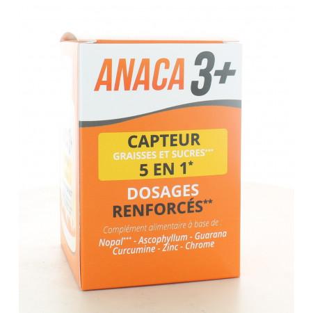 Anaca3+ Capteur Graisses et Sucres 5en1 120 gélules