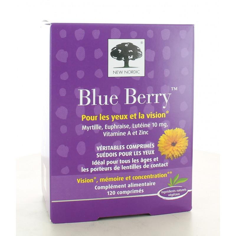 Blue Berry New Nordic 120 comprimés