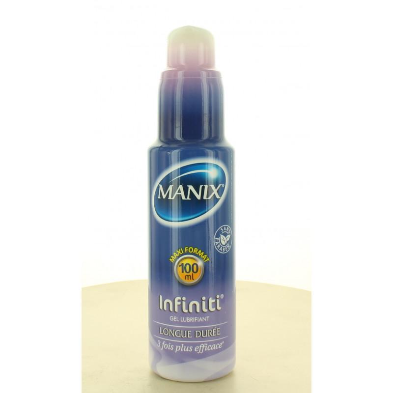 Manix Gel Lubrifiant Infiniti Longue Durée 100ml