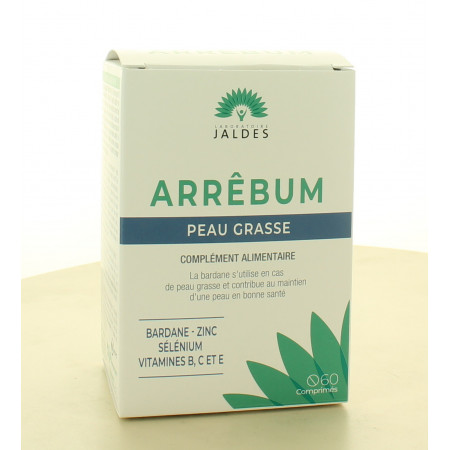 Arrêbum Peau Grasse 60 comprimés