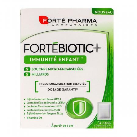 Fortébiotic+ Immunité Enfant Forté Pharma 14 sachets
