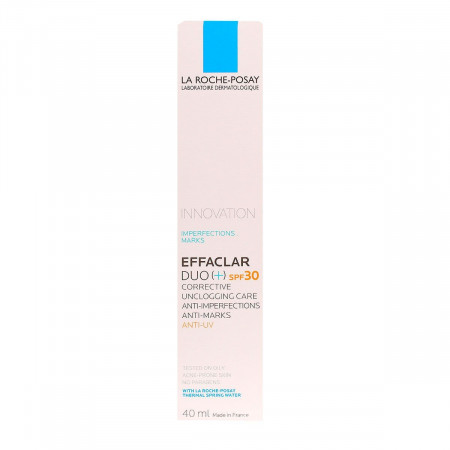 La Roche-Posay Effaclar Duo+ SPF30 Soin Anti-imperfections 40ml