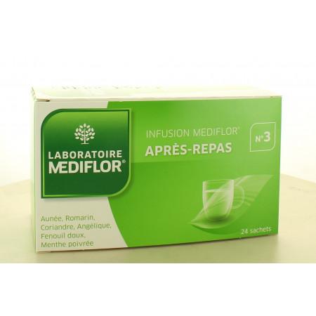 Mediflor Infusion n°3 Après-repas 24 sachets