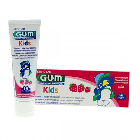 Gum Dentifrice Kids 2-6 ans Fraise 50ml