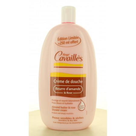 Rogé Cavaillès Crème de Douche Beurre d'Amande & Rose 750ml