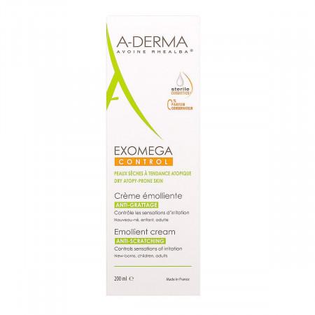 ADerma Exomega Control Crème Émolliente 200ml