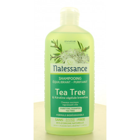 Natessance Shampooing Équilibrant Tea Tree 250ml