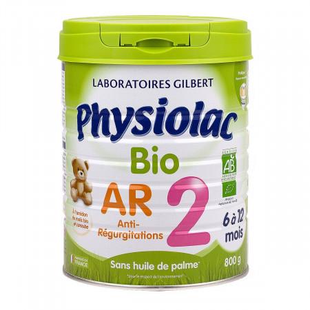 Physiolac Bio AR 2 6-12 mois 800g
