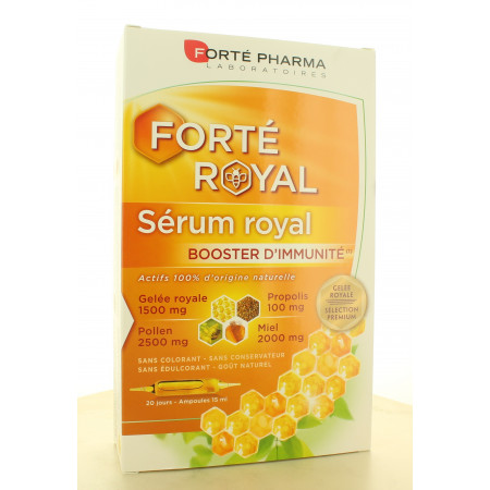 Forté Pharma Sérum Royal 20 ampoules