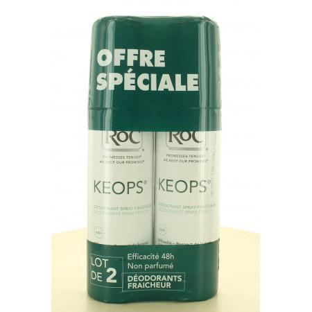RoC Keops Déodorant Spray Fraîcheur 2X100ml