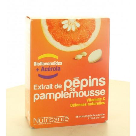 Extrait de Pépins de Pamplemousse Nutrisanté 56 comprimés