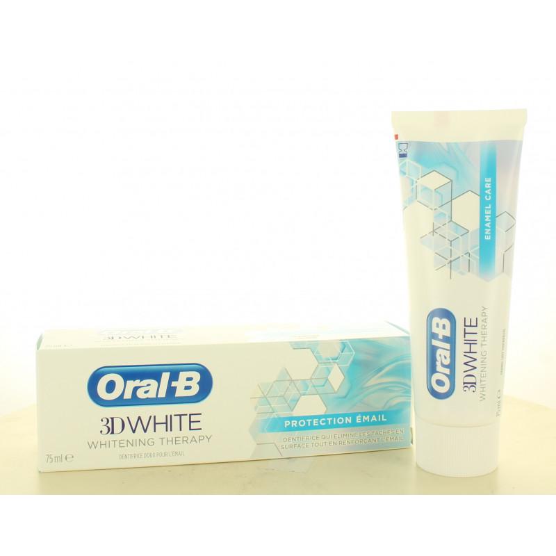 Oral-B 3D White Protection Émail 75ml