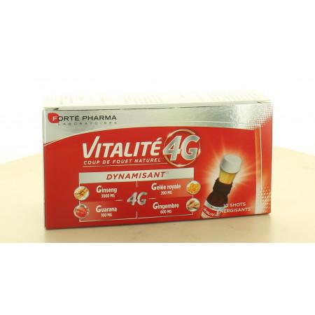 Forté Pharma Vitalité 4G Dynamisant 10 shots
