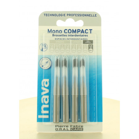 Inava Mono Compact Brossettes Interdentaires 2,6mm X4