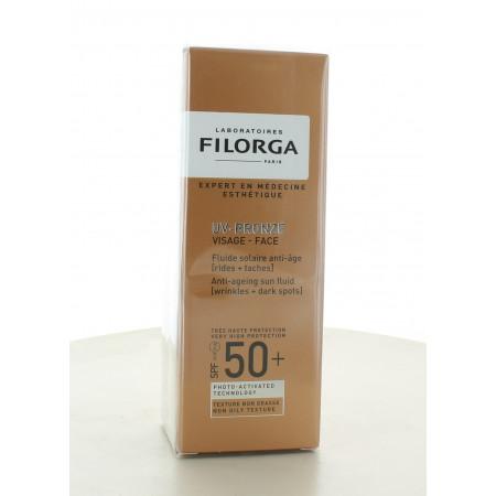 Filorga UV Bronze Fluide Solaire Anti-âge SPF50+ 40ml