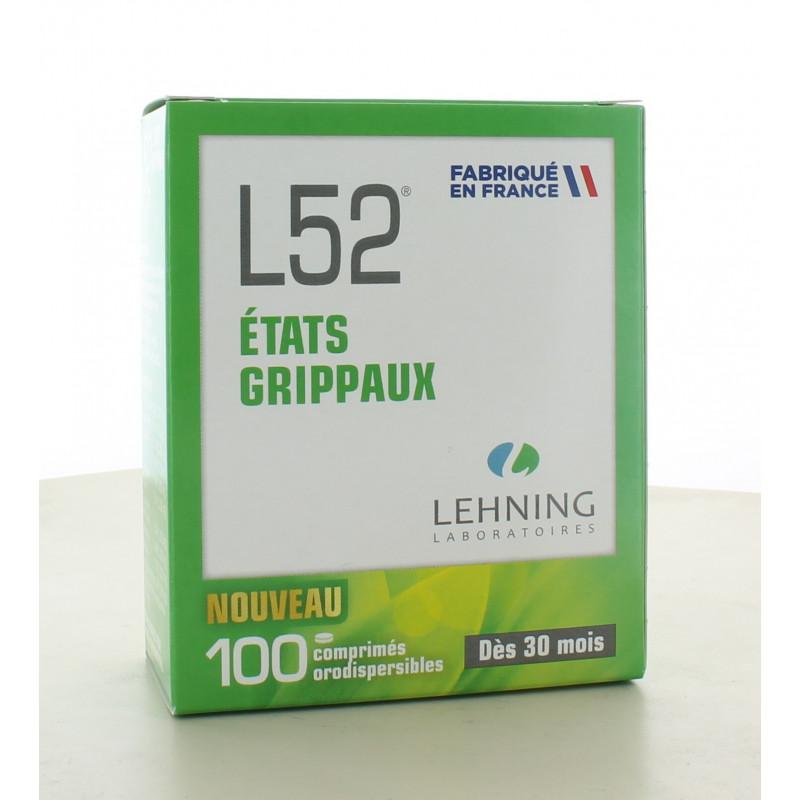 L52 100 comprimés orodispersibles