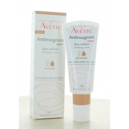 Avène Antirougeurs Unify Soin Unifiant SPF30 40ml