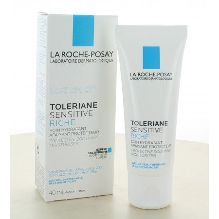 La Roche-Posay Toleriane Sensitive Riche Soin Hydratant 40ml