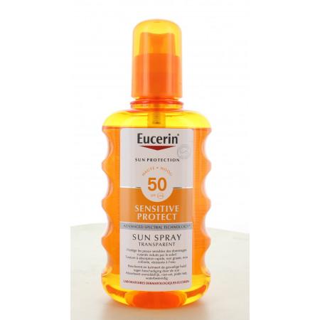 Eucerin Sensitive Protect Sun Spray Transparent...