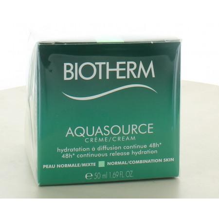 Biotherm AquaSource Crème Peau Normale à mixte 50ml