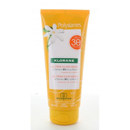 Klorane Polysianes Gel-crème Solaire Sublime SPF30 200ml