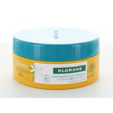 Klorane Polysianes Crème Sublimatrice Après-soleil 200ml
